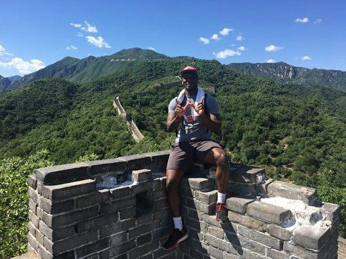 Paul Jackson II in China