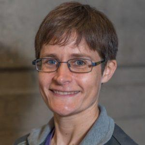 headshot of instructor Martine Delannay