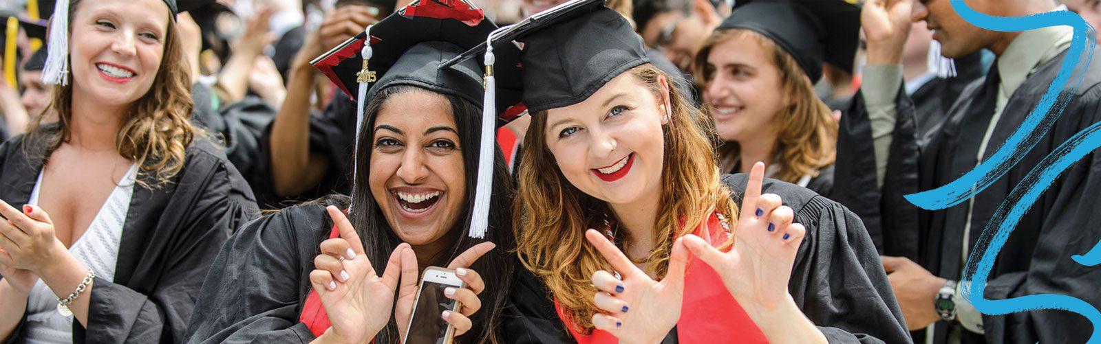 Happy UW graduates