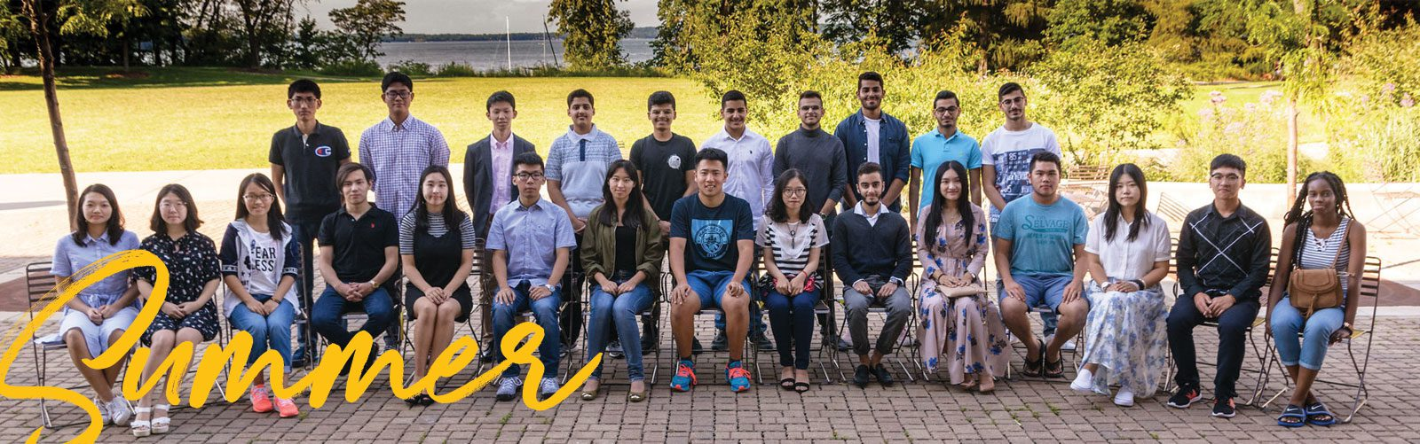 Group photo of the 2017 ISSI cohort