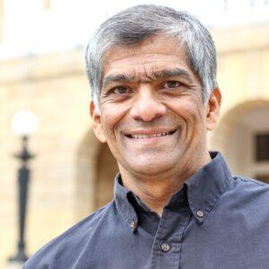 headshot of professor Hemant Shah