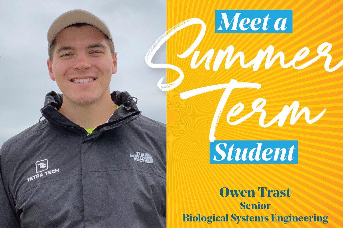 Owen Trast, UW–Madison Summer Term student